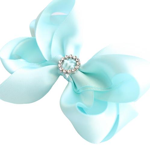 Light Blue Bow Embellishment