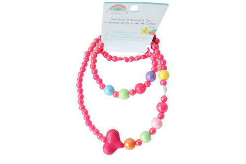Friendship & Charm Necklace and Bracelet Set