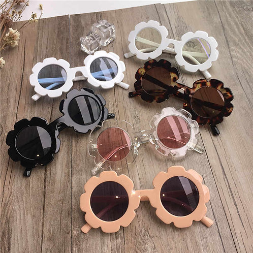 Flower Framed Sunglasses