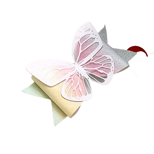 Ombre Butterfly Hairclip