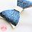 Thumbnail: Blue Sparkly Hair Bow