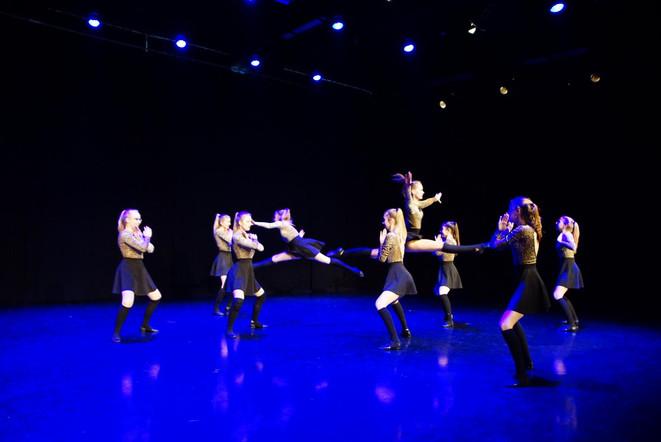 showdance dans wedstrijd