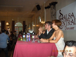 Judging Salsa Competition
