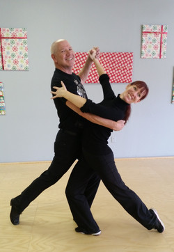 dance lesson with Phil Winner 2014