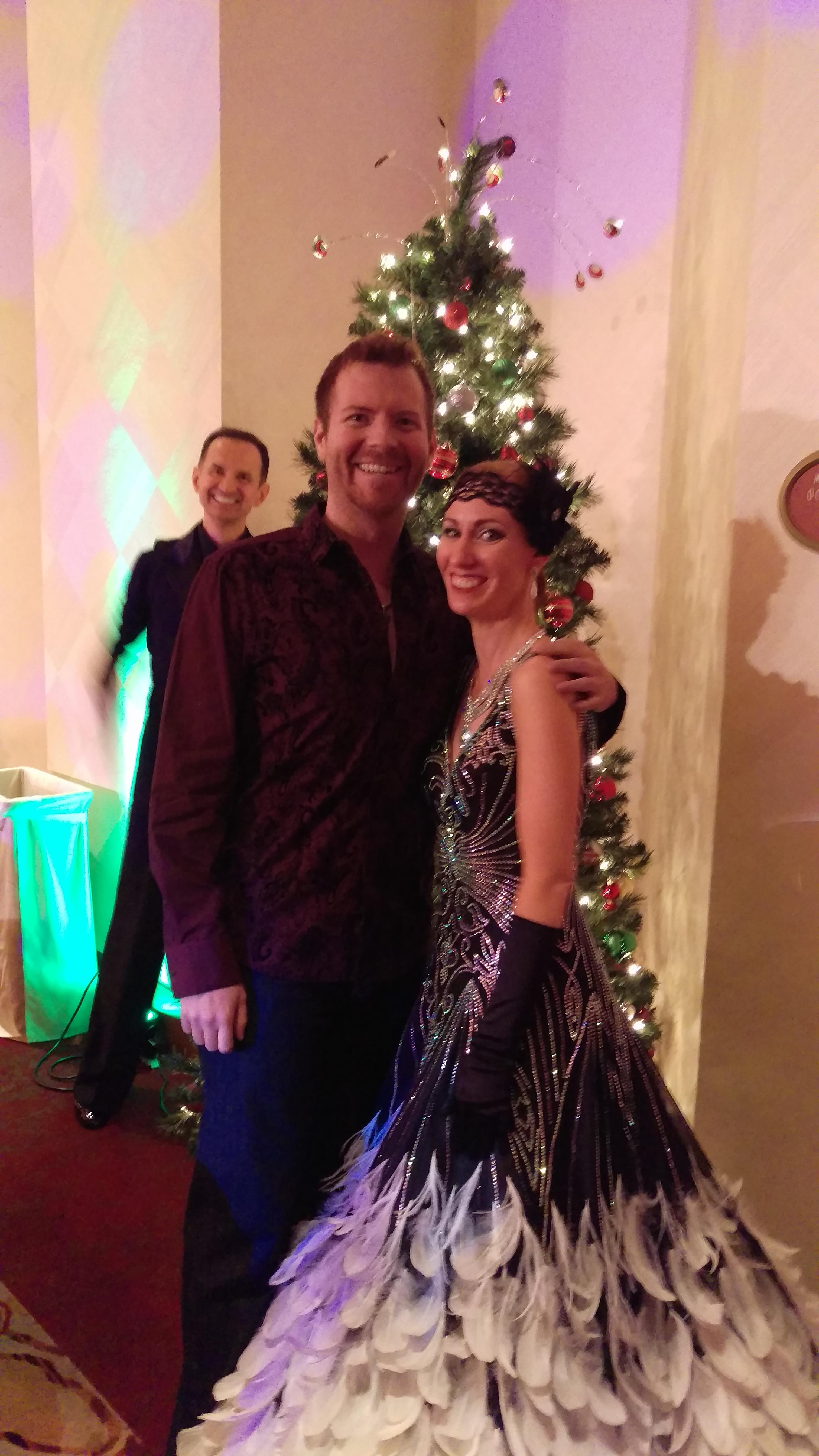 Taylor Westfall and Jennifer Corey