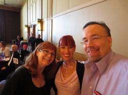 Diane, Jennifer & Gary