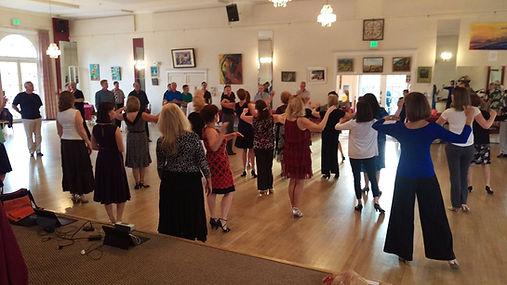 Ballroom workshop sponsored by Strides Ballroom