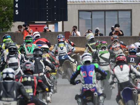 MFJ全日本スーパーモト選手権名阪ラウンド 高部充陽選手レース結果