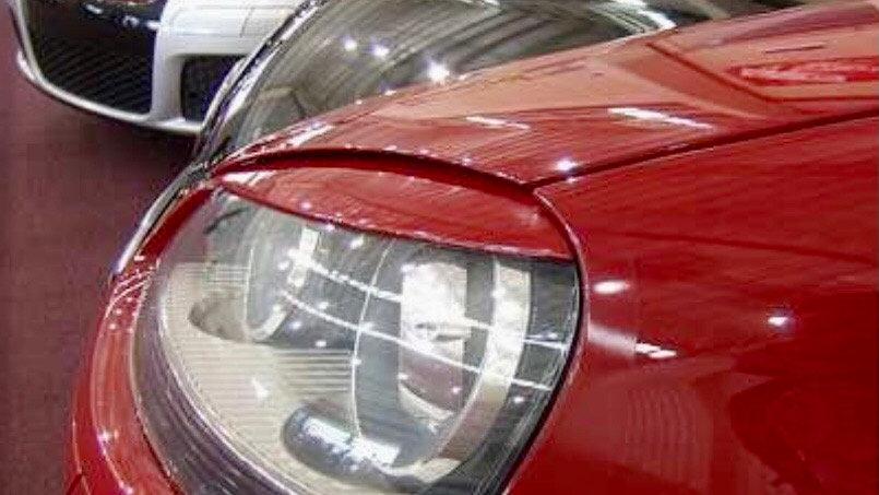 VW Golf Jetta MK5 Headlight Eyelid Eyebrows Trims