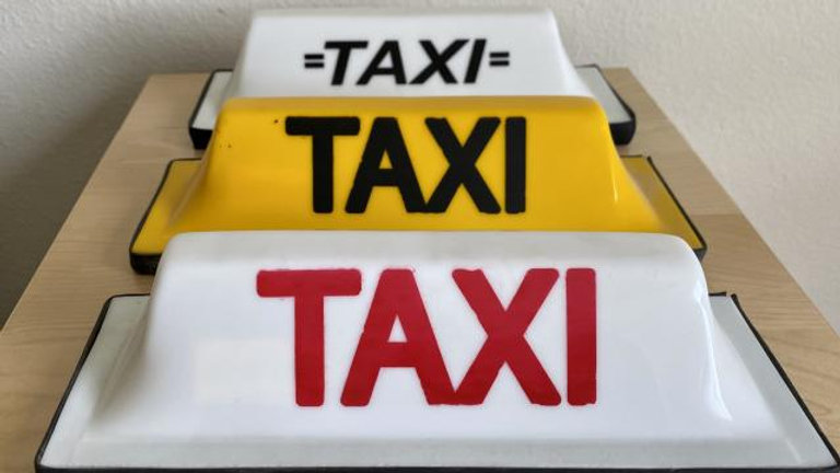 VW TAXI Cab Sign Roof Top BUG BUS GHIA COOL !