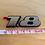 Thumbnail: VW 1.8 MK3 A3 93-99 Golf JETTA GTI FOX Emblem Badge 6CM OEM NEW