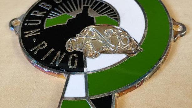 Nurbug Ring Nurburing Badge Emblem Metal Enameld