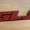 Thumbnail: VW  MK3 A3 92-99 GOLF JETTA GLS Rear Emblem Badge 1HM853675C RED
