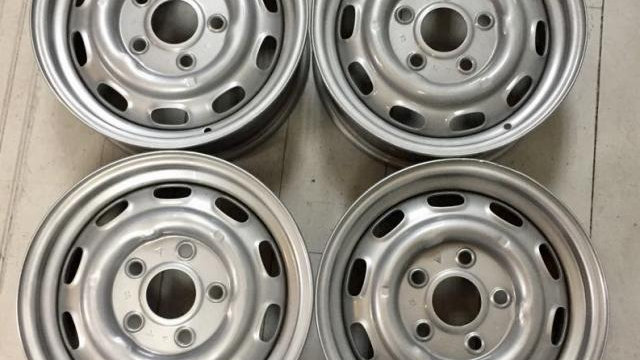 Porsche 356 912 911 Wheels 5 1/2 x 15 Powder Coated