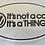 """Thumbnail: VW Oval Vinyl Decal Sticker """"IT'S NOT A"""""""