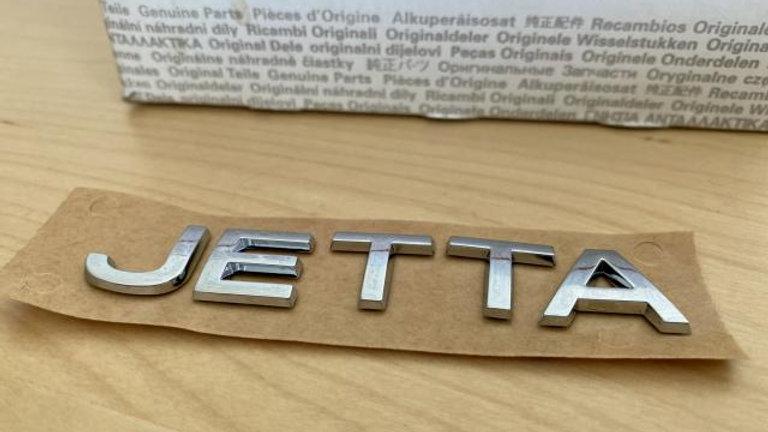 VW Volkswagen Jetta Emblem OEM Genuine NEW