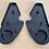 Thumbnail: VW BUG RABBIT SUPER BEETLE SEAT HINGE COVER SET