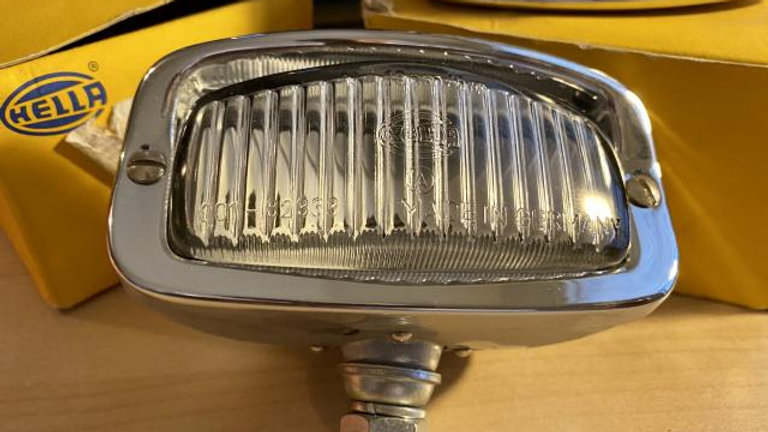 VW Bug Ghia NOS Hella Back Up Reverse Light Set