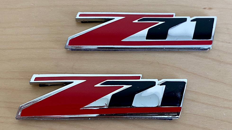 """Z71"" ""Z71 4X4"" Badge Emblem NEW PAIR"