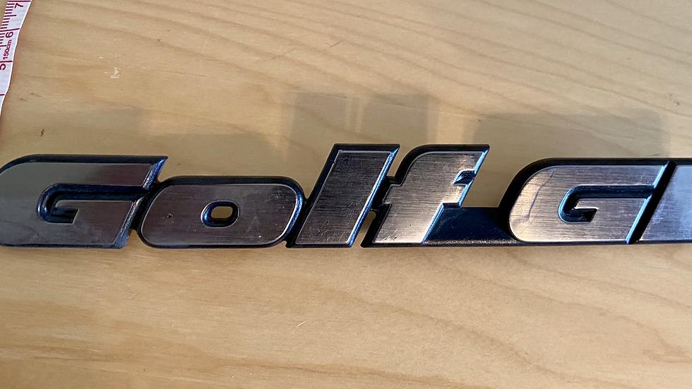 VW MK3 A3 92-99 GOLF GL Rear Emblem Badge 191853687L OEM