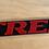 Thumbnail: VW MK2 A2 Jetta TREK Trunk Badge REAR EMBLEM 1HM675BE OEM NEW