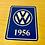 Thumbnail: VW T1 T2 T3 GHIA BUG BUS YEAR LOGO STICKERS