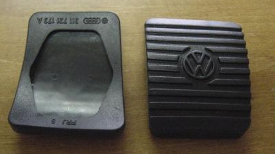 VW BUG Beetle Ghia Thing Vanagon Pedal Pad Set OEM