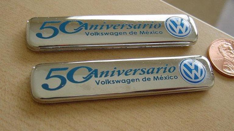 VW Sedan Jetta Beetle Gti Gli 50 Aniversario Emblems