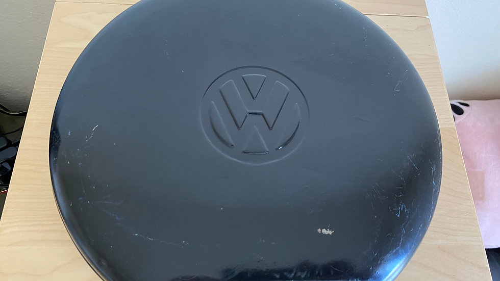 VW Spare Tire Toolbox TOOL BOX.  GENUINE VW !