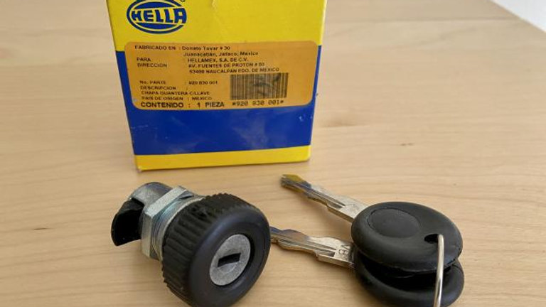 VW Bug Bus Super Ghia Locking Glove Box Latch NEW