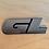 Thumbnail: VW MK3 A3 92-99 Jetta GL 8CM Rear Trunk Emblem Badge OEM NEW