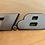 Thumbnail: VW 1.8 MK3 A3 93-99 Golf JETTA GTI FOX Emblem Badge 9CM OEM NEW