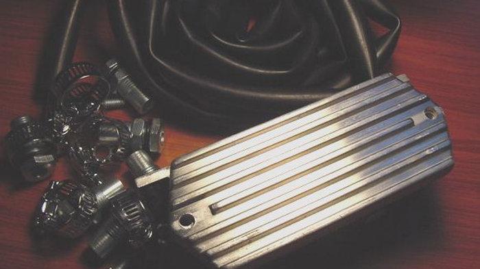 VW BUG BUS GHIA Crank Case Engine Oil Breather Box