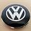 Thumbnail: VW BUG BUS GHIA DELUXE CHROME HUBCAP NIPPLE SET NEW.