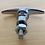 Thumbnail: VW Bug T HANDLE REAR DECKLID LOCK W KEYS 48-64 NEW