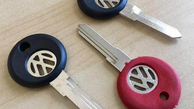 VW Cabrio Mk1 Golf Scirocco Mk2 GTI Mk3 Blank Key