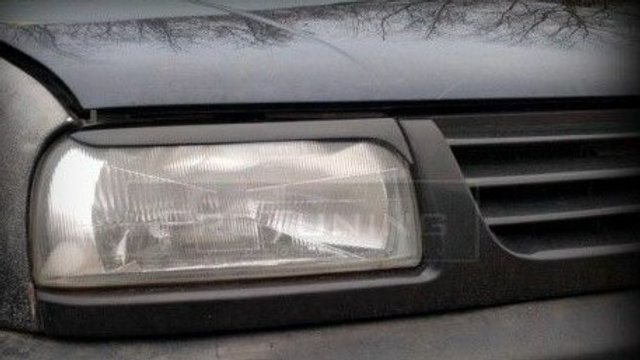 VW JETTA 3 MK3 GLI HEADLIGHT EYELIDS EYEBROWS