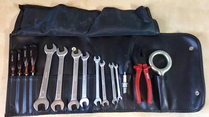 Ferrari Tool Kit Roll Bag 308 Testarossa