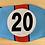 Thumbnail: PORSCHE 917 LeMans 20 Face Mask Reusable Washable