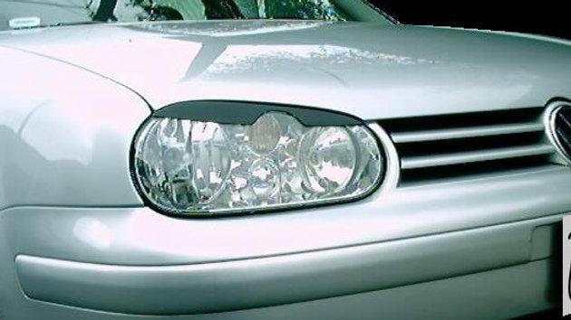 VW GOLF 4 MK4 GTI HEADLIGHT EYELIDS EYEBROWS PAINT