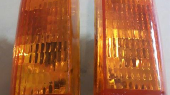 VW Rabbit Mk1 Amber / Clear Turn Signal Set