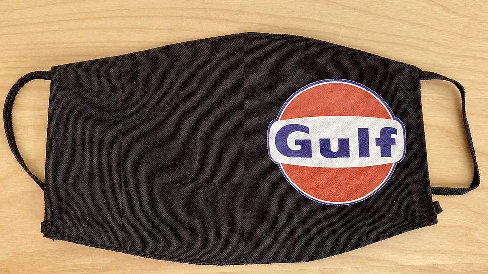 GULF VINTAGE SMALL LOGO Face Mask Reusable Washable