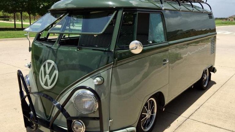 VW Bus Kombi Panel Van 1963