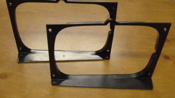 VW Rabbit Caddy Mk1 Headlight Bezels Pair