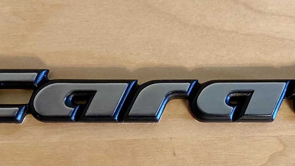 VW MK2 A2 Jetta CARAT Edition Rear Badge Emblem OEM NEW