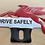 Thumbnail: Mobil Pegasus License Plate Topper Ornament.