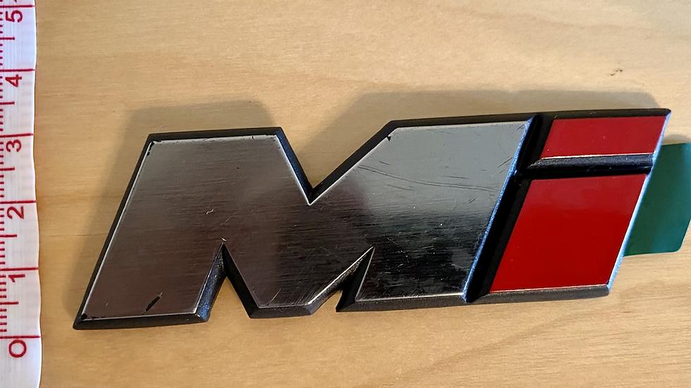 VW MK3 A3 93-99 Golf Mi Emblem Badge Logo 9cm 1HM853675 OEM