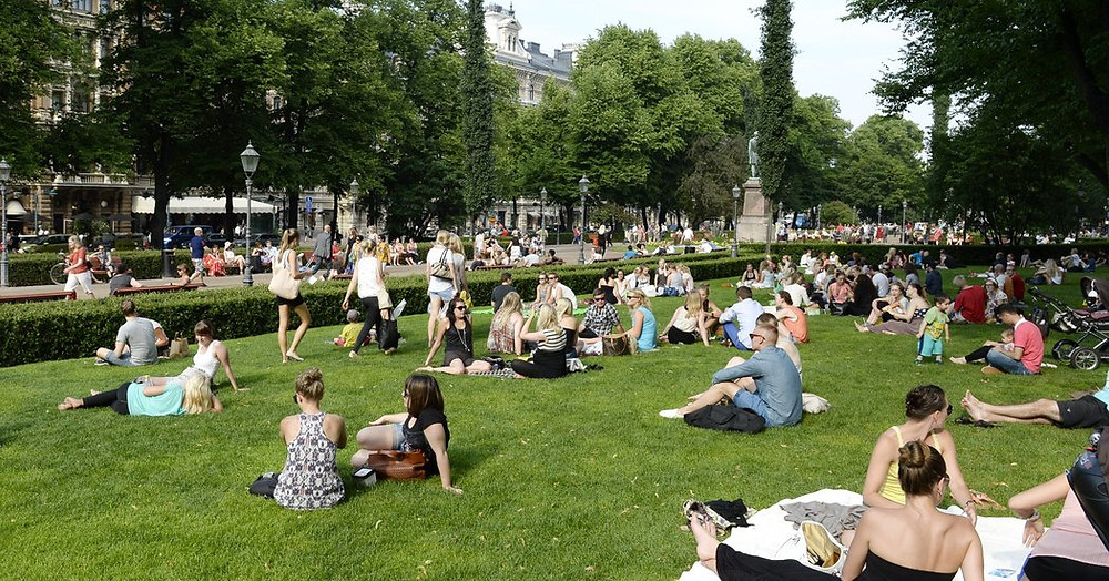 One of the world's happiest cities – Helsinki, Finland (Martti Kainulainen/Lehtikuva, via Associated Press)