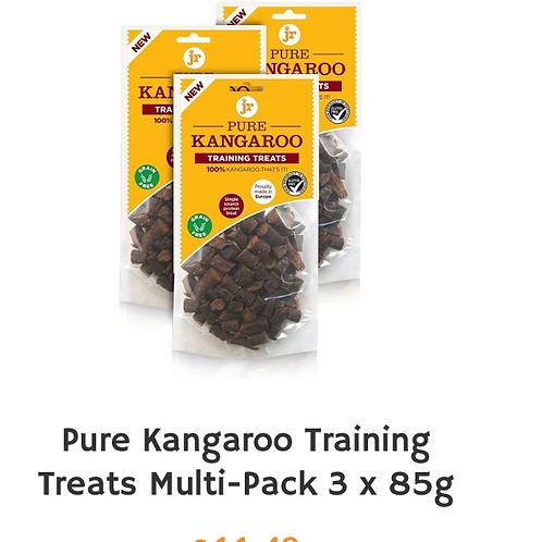 J R Pet Training treats pack of Kangaroo on offer
