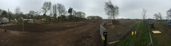 new gate and levelled